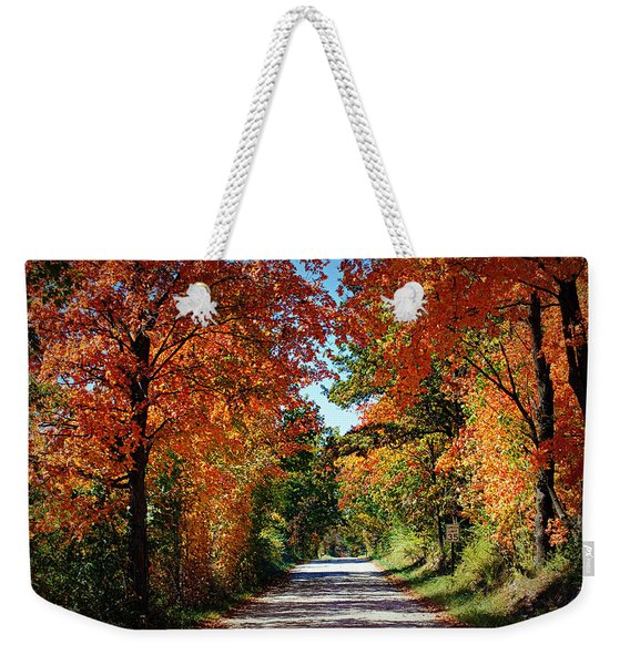 Blaze Of Glory Weekender Tote Bag