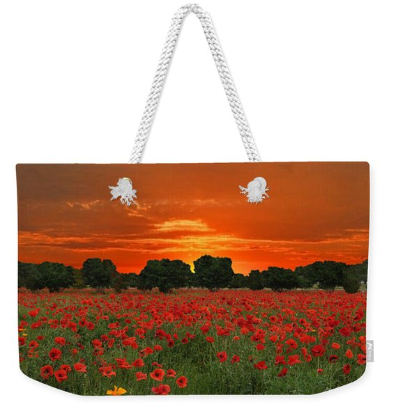 Blaze Of Glory Weekender Tote Bag