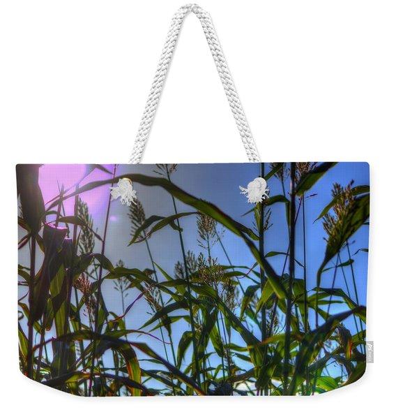 Blazing Rays Weekender Tote Bag