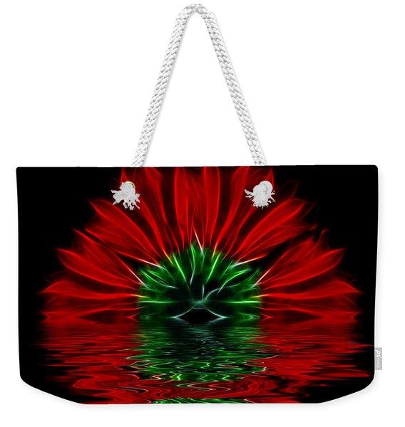 Bleeding Red Weekender Tote Bag