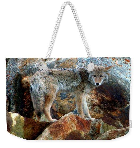Blending In Nature Weekender Tote Bag