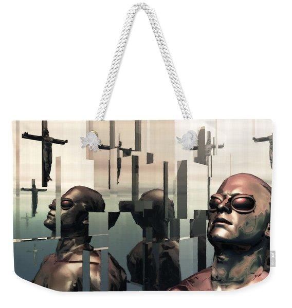 Blind Reflections Weekender Tote Bag