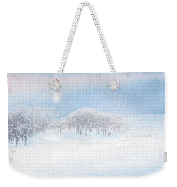 Blizzard Coming Weekender Tote Bag