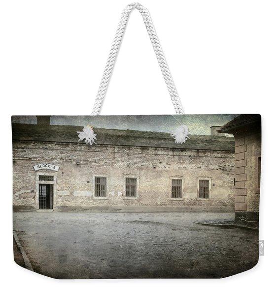 Block A Weekender Tote Bag