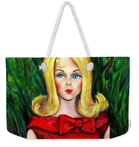 Blonde Marlo Flip Tnt Barbie Weekender Tote Bag