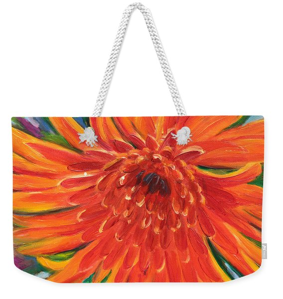 Bloom Weekender Tote Bag