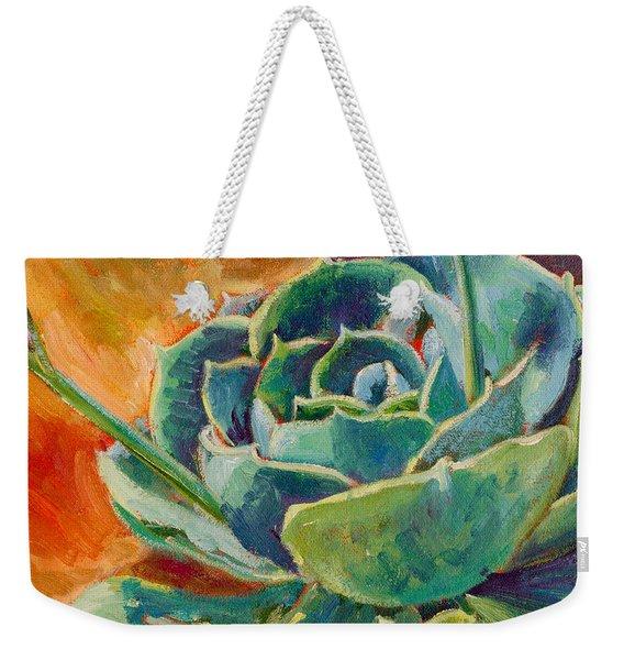 Blooming Hen Weekender Tote Bag