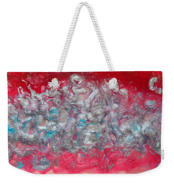 Blossom Abstract Weekender Tote Bag
