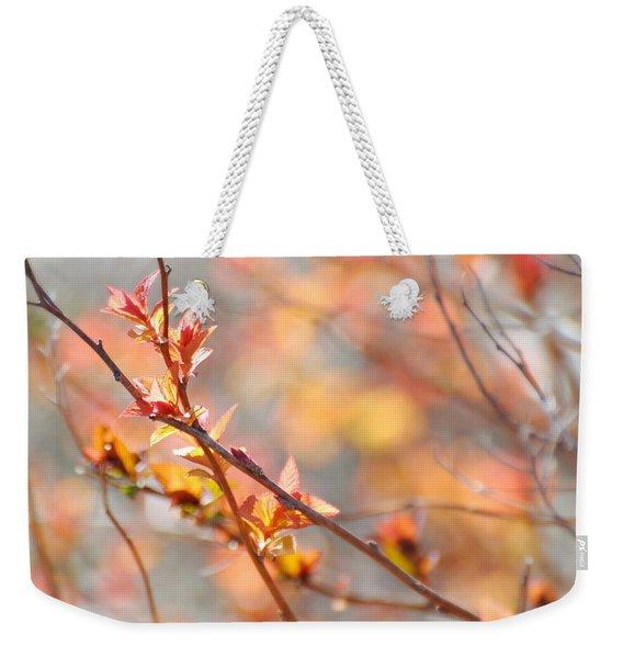 Blossoming Weekender Tote Bag