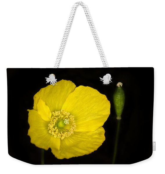 Blossoming Kiss Weekender Tote Bag