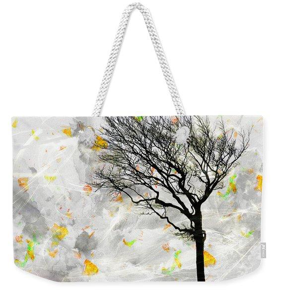 Blowing It The Wind Weekender Tote Bag
