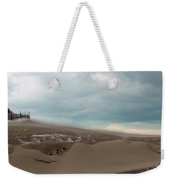 Blowing Sand Weekender Tote Bag