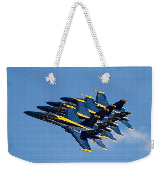 Blue Angels Echelon Weekender Tote Bag