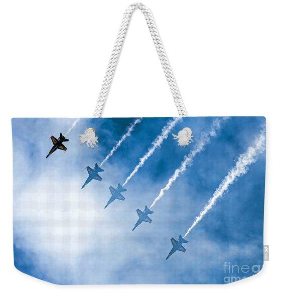 Blue Angels Weekender Tote Bag