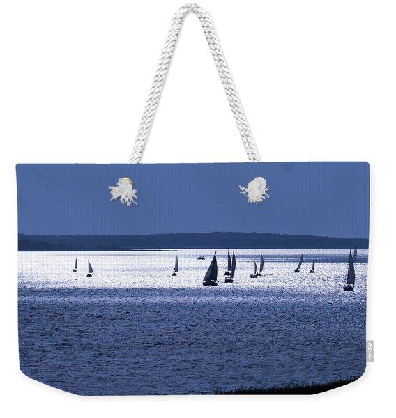 The Blue Armada Weekender Tote Bag