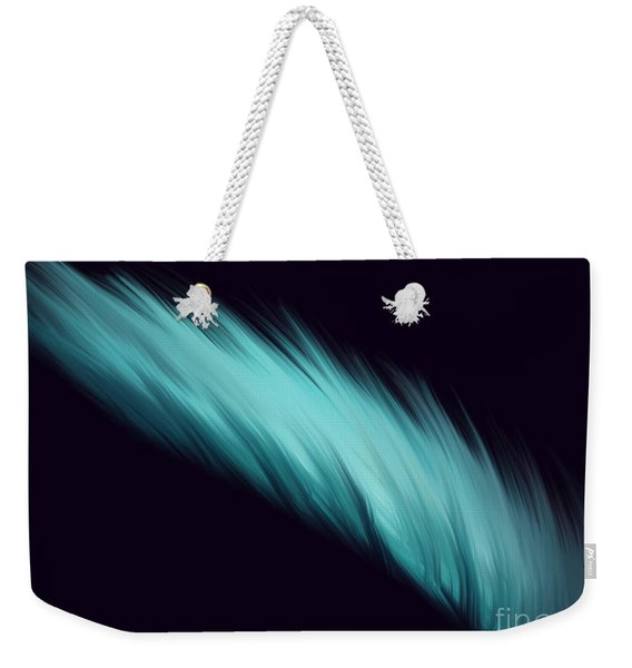 Blue Feather Weekender Tote Bag