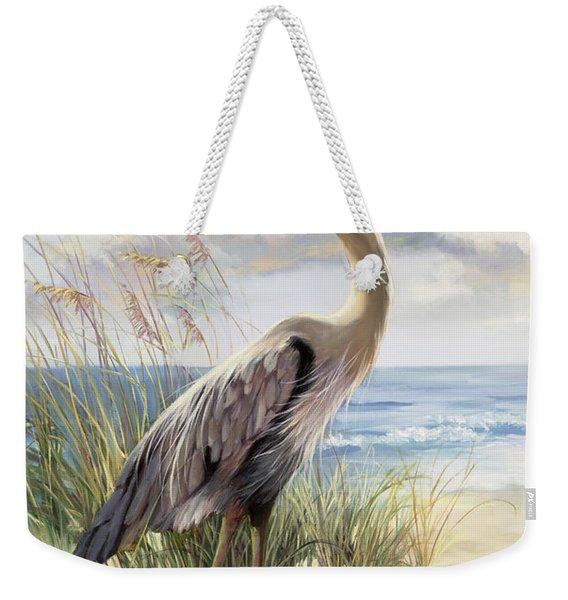 Blue Heron Deux Weekender Tote Bag