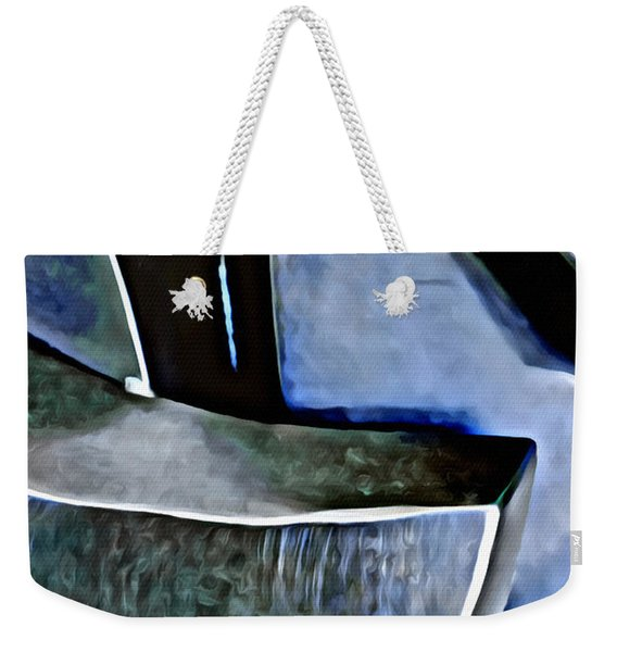 Blue Iron Weekender Tote Bag