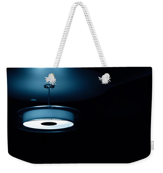 Blue Light Weekender Tote Bag