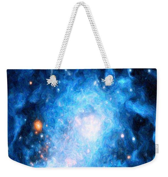 Blue Magellan Weekender Tote Bag