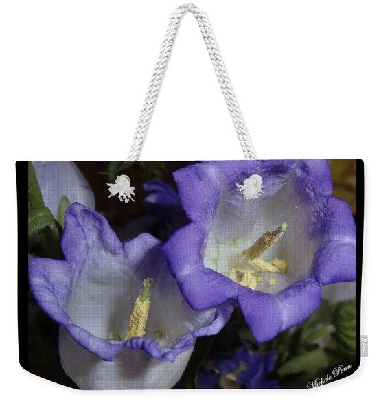 Blue Persuasion Weekender Tote Bag