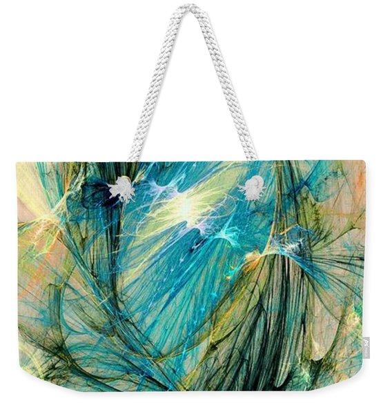 Blue Phoenix Weekender Tote Bag