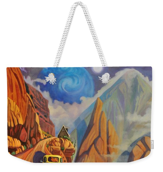 Cliff House Weekender Tote Bag
