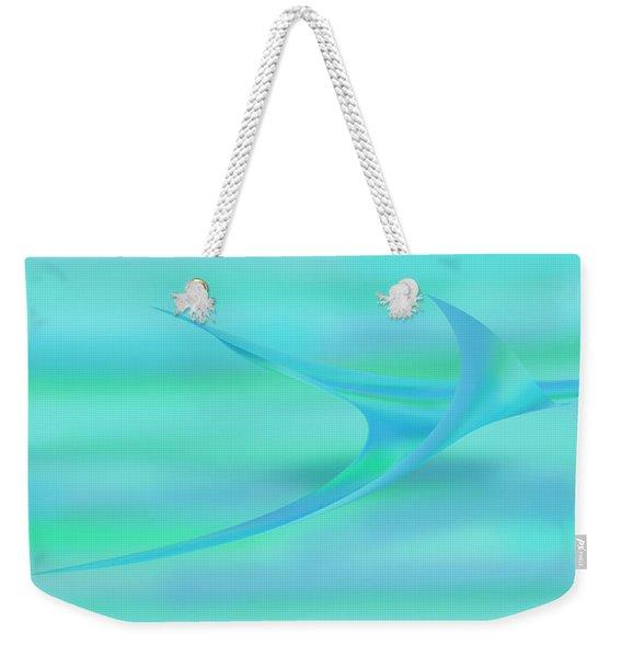 Blue Ray Weekender Tote Bag
