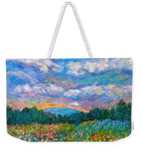 Blue Ridge Wildflowers Weekender Tote Bag