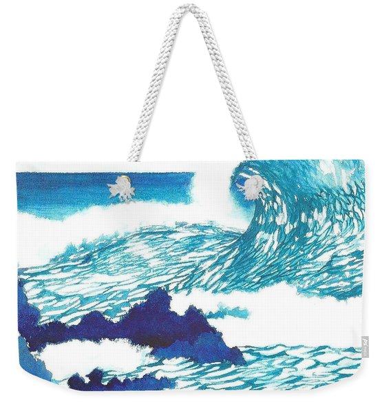 Blue Roar Weekender Tote Bag