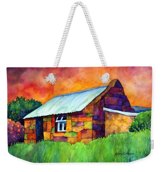 Blue Roof Cottage Weekender Tote Bag