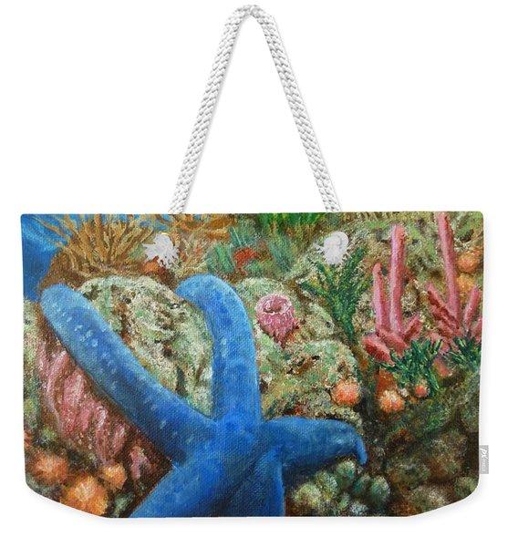Blue Seastar Weekender Tote Bag