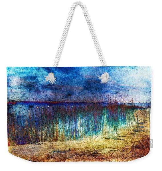 Blue Shore Weekender Tote Bag
