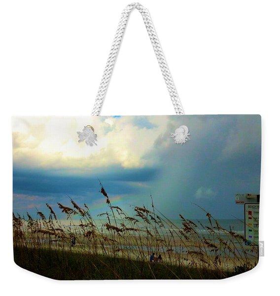 Blue Sky Above Weekender Tote Bag