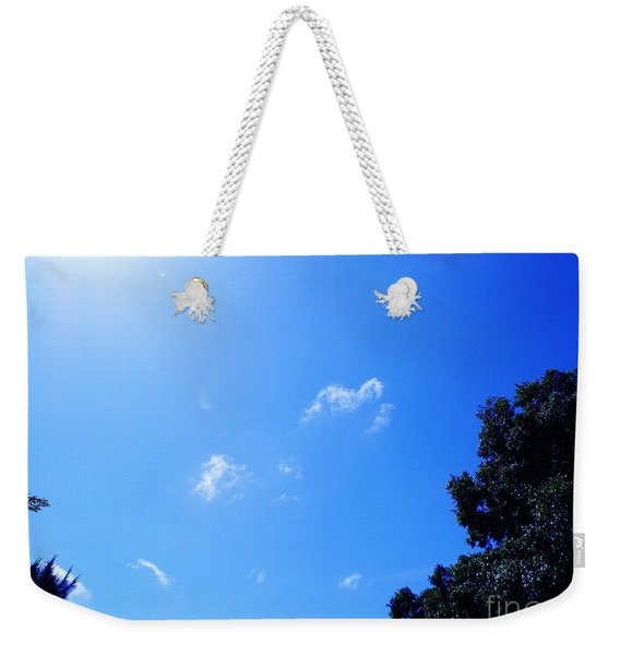Blue Sky And Sunshine Weekender Tote Bag