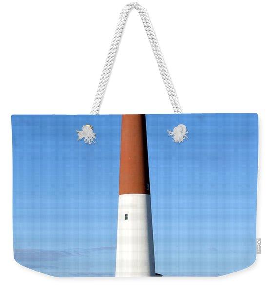 Blue Sky Blue Sea  And Barnegat Light Weekender Tote Bag
