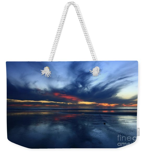 Cardiff By The Sea Symphony   Weekender Tote Bag