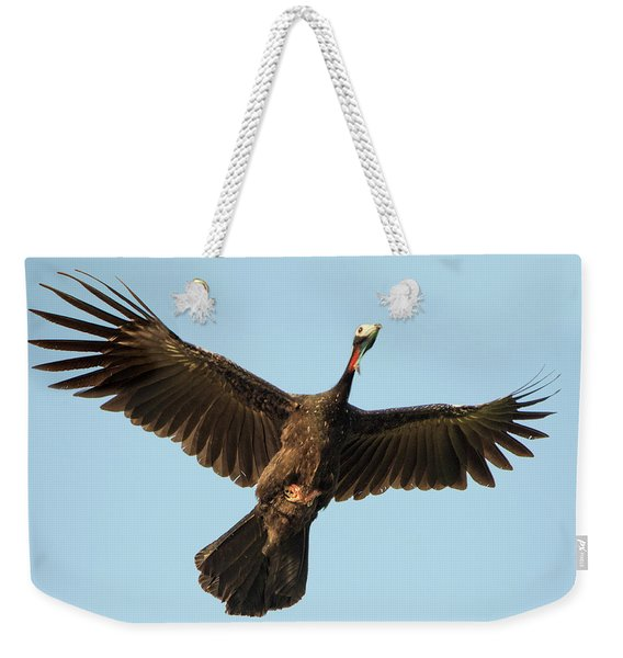 Blue-throated Piping Guan Pipile Weekender Tote Bag