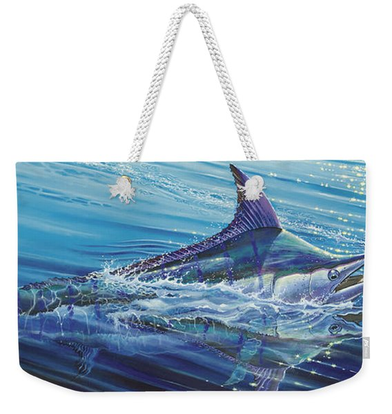 Blue Tranquility Off0051 Weekender Tote Bag