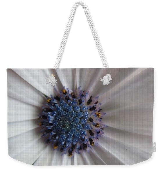 Blue-white Loveliness Weekender Tote Bag