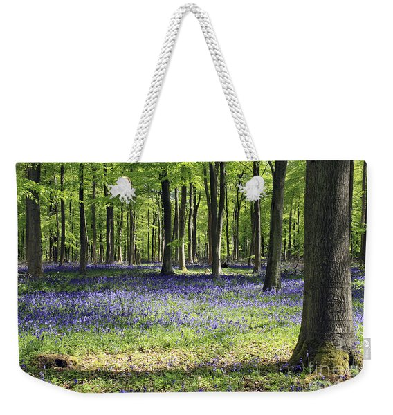 Bluebell Wood Uk Weekender Tote Bag