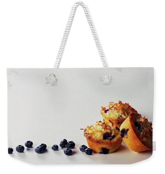 Blueberry-coconut Pound Cakes Weekender Tote Bag