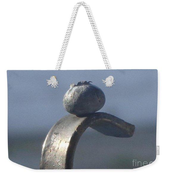 Blueberry Portrait Weekender Tote Bag