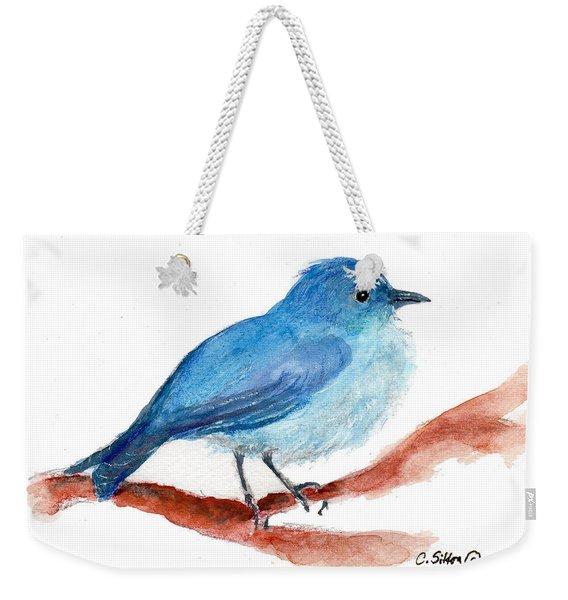 Bluebird Weekender Tote Bag