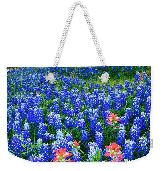 Bluebonnets Forever Weekender Tote Bag