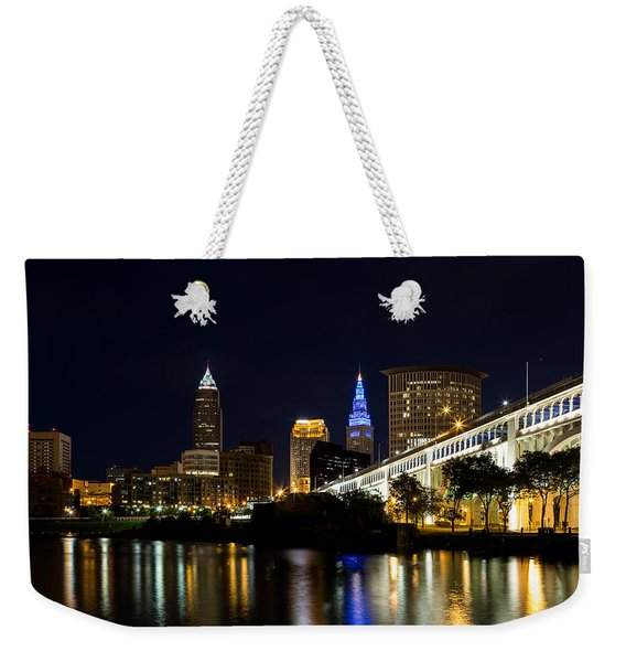 Blues In Cleveland Ohio Weekender Tote Bag