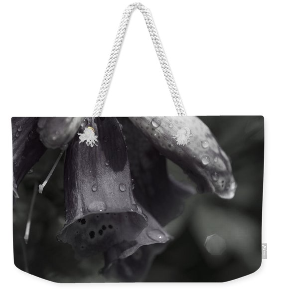 Flowers And Tiny Water Droplets Weekender Tote Bag