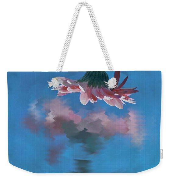 Blushing Pink Bloom Weekender Tote Bag