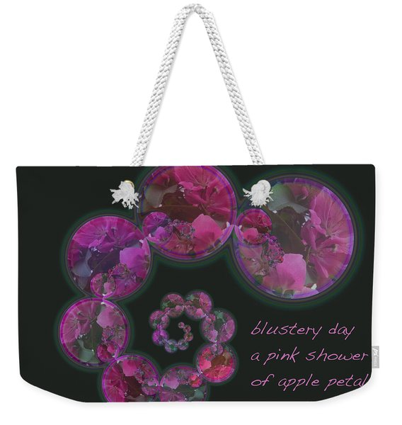 Blustery Day Haiga Weekender Tote Bag