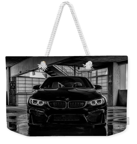 Bmw M4 Weekender Tote Bag